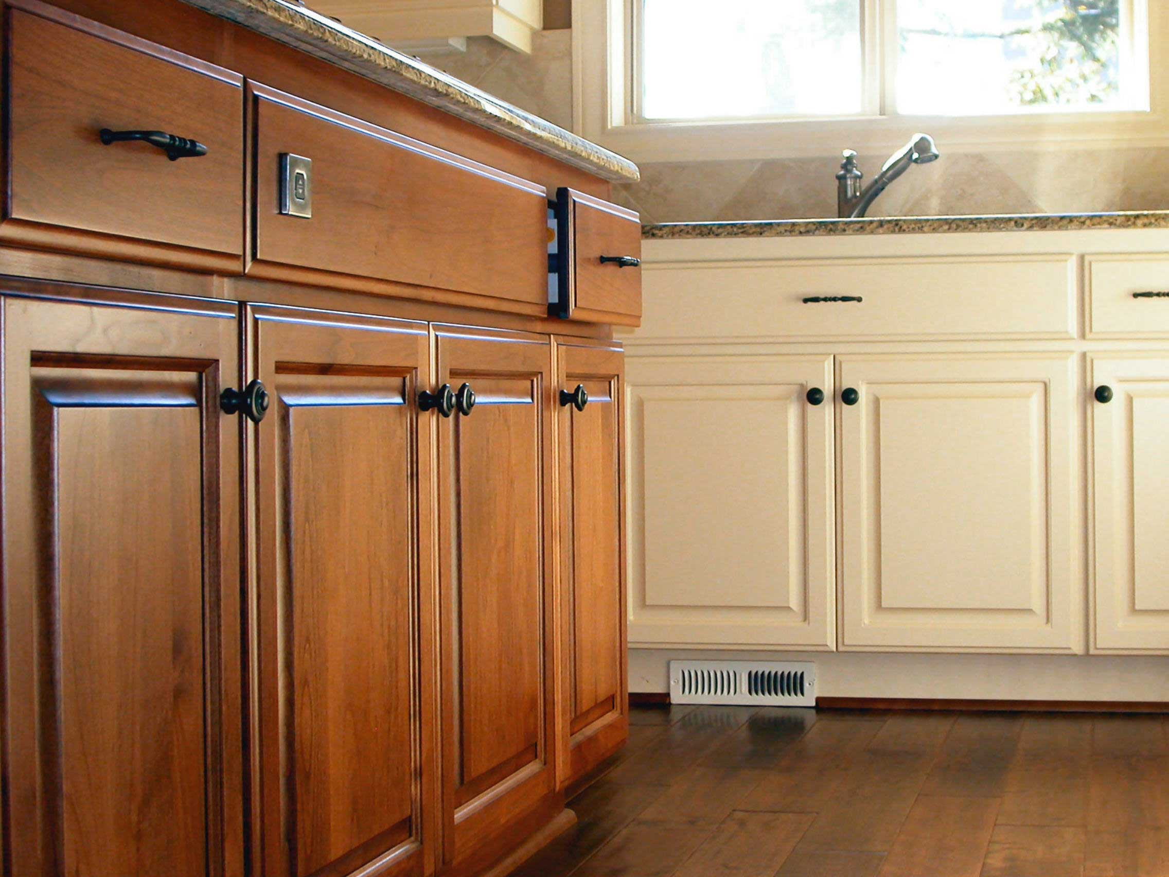 Diy Staining Kitchen Cabinets Image 3 Kitchen Cabinets Cabinet Hardware The Hampton