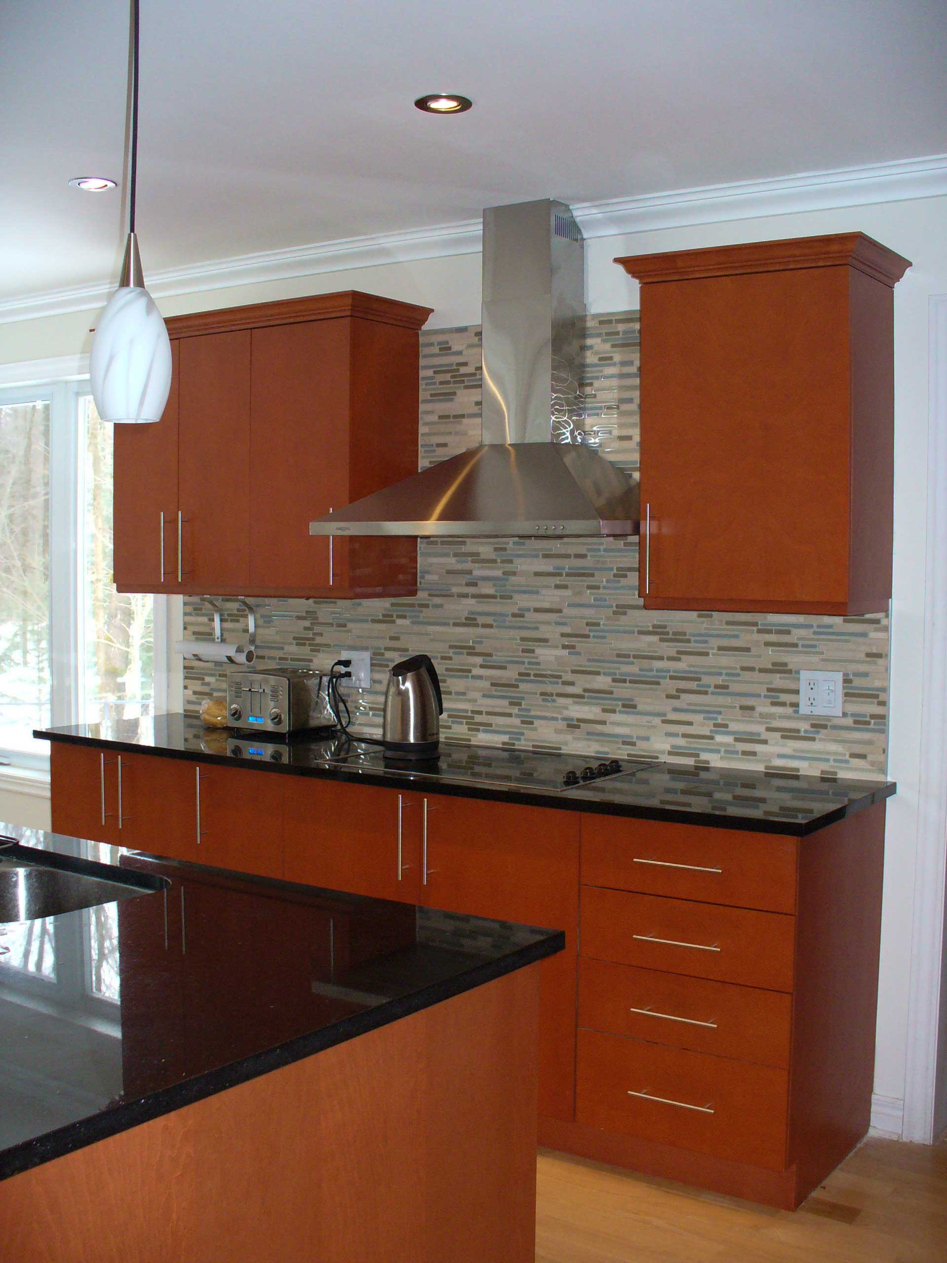 Custom made unique and stylish looking kitchen cupboards in - West Island Cabinetmaking